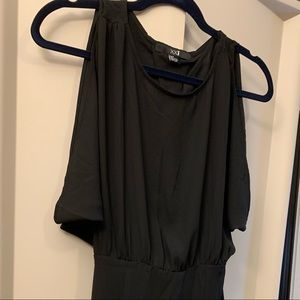 Dresses & Skirts - Women's Cocktail Dress Black with Open Back Detail